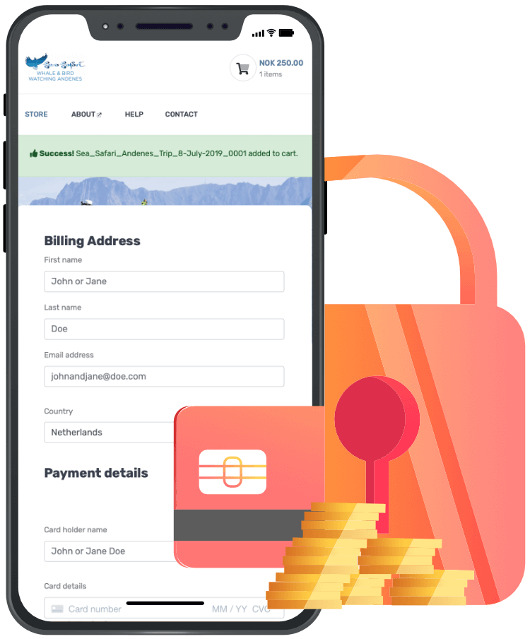 DuggMedia - Secure payments
